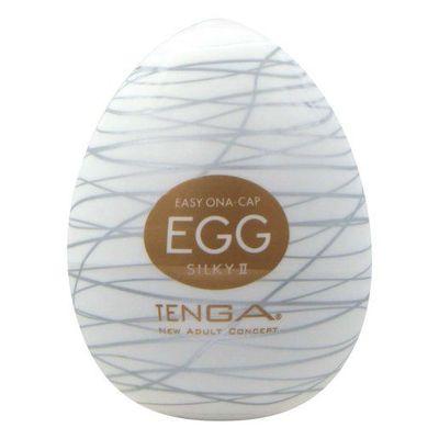 Мастурбатор Tenga Egg Silky-2 Яйцо «Шелковые нити»