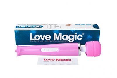 Вибромассажер Hitachi Magic Wand беспроводной 30 режимов розовый