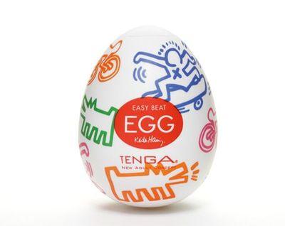 Мастурбатор Tenga&Keith Haring Egg Street  Улица