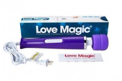 Вибромассажер Hitachi Magic Wand проводной 30 режимов фиолетовый