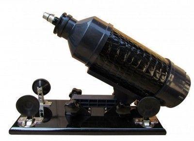 Секс-машина Machina Gun черная кожа