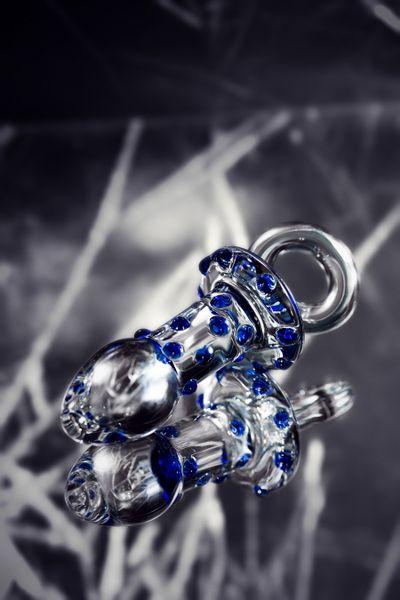 Анальная втулка Sexus Glass, Стекло, Прозрачный, 12,7 см
