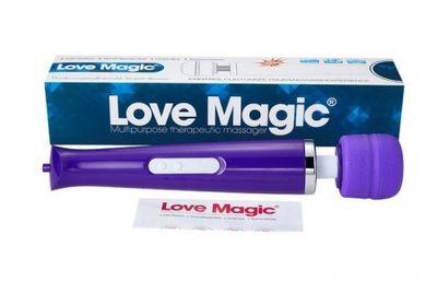 Вибромассажер Hitachi Magic Wand беспроводной 30 режимов фиолетовый