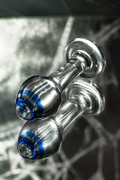 Анальная втулка Sexus Glass, Стекло, Прозрачный, 11,4 см