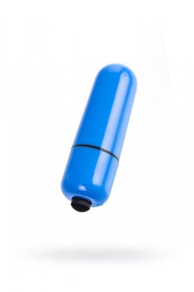 Вибропуля A-Toys 10 режимов синяя 5,5 см