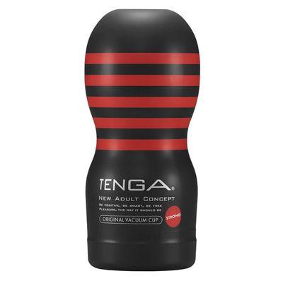 Мастурбатор Tenga Original Vaccum Cup Hard Глубокий Ротик черный