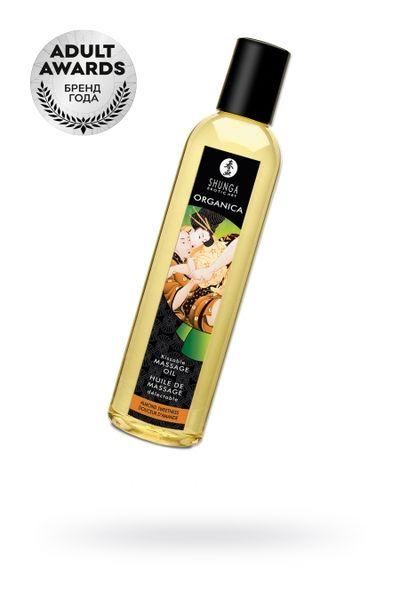 Масло для массажа Shunga Organica Almond Sweetness, натуральное, возбуждающее, с ароматом миндаля, 2
