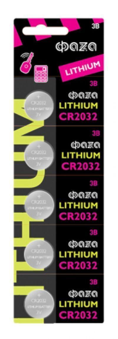 Элемент питания ФАZА CR2032