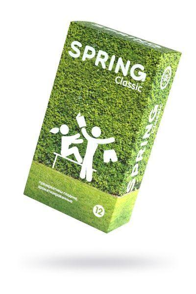 Презервативы Spring Classic, классические, латекс, 19,5 см, 12 шт