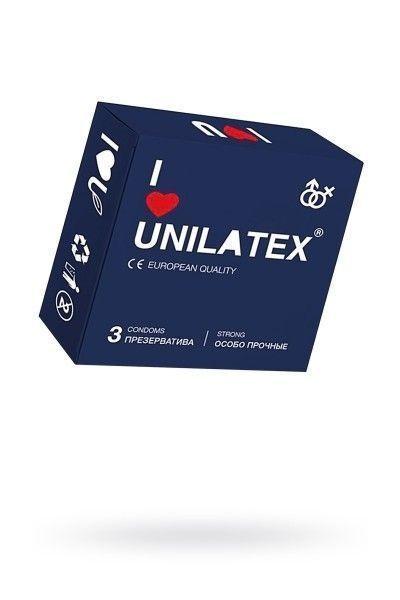 Презервативы Unilatex Extra Strong №3 гладкие
