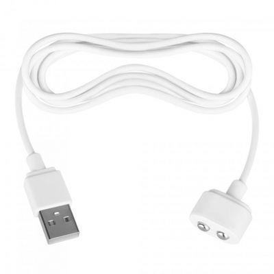 Кабель зарядки для вибромассажеров Satisfyer USB Charging Cable белый