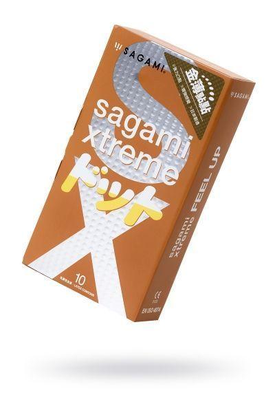 Презервативы латексные Sagami Xtreme Feel Up №10