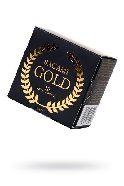 Презервативы латексные Sagami Gold №10