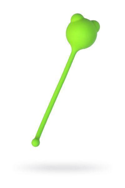 Вагинальный шарик A-Toys by TOYFA, силикон, зеленый, Ø 2,7 см