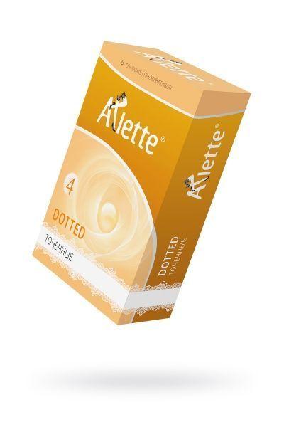 Презервативы 'Arlette' №6, Dotted Точечные 6 шт.