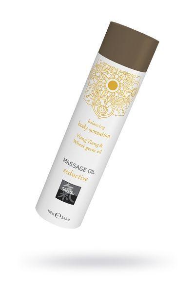 Массажное масло seductive - Иланг иланг & масло зародышей пшеницы 100 мл.