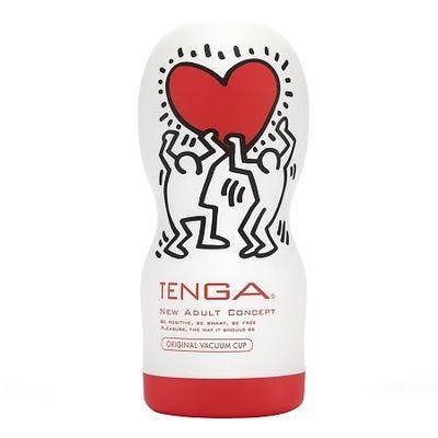 Мастурбатор Tenga Keith Haring Vacuum Cup