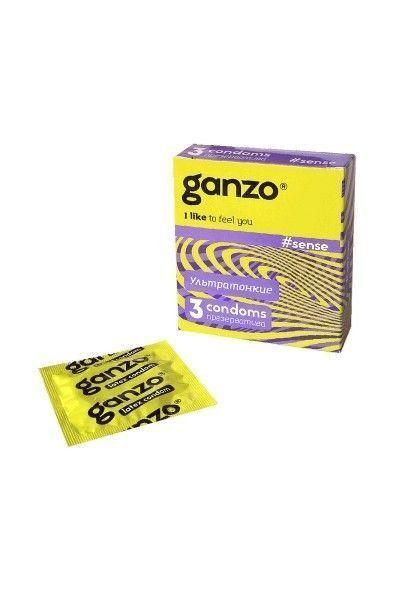 Презервативы Ganzo Sense № 3Ультратонкие -ШТ