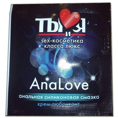 Анальная силиконовая смазка AnalLove Ты и Я 4 гр