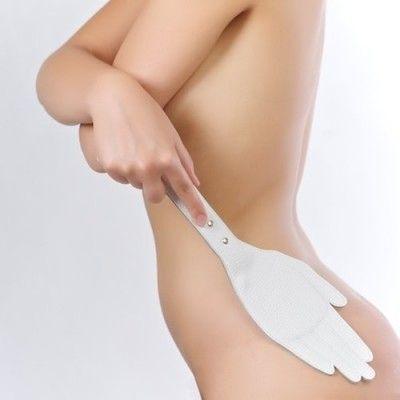 Шлёпалка Sitabella белая 35 см,кожа
