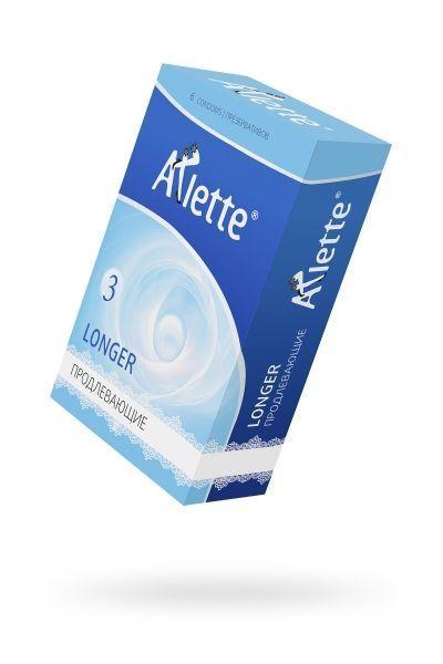 Презервативы 'Arlette' №6, Longer Продлевающие 6 шт.