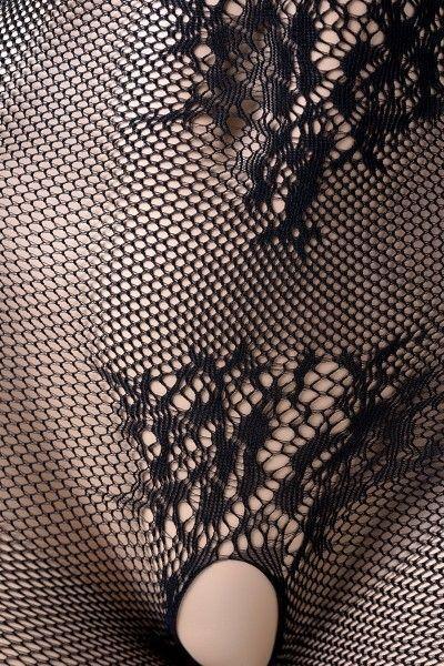 Костюм-сетка Candy Girl, черный, OS