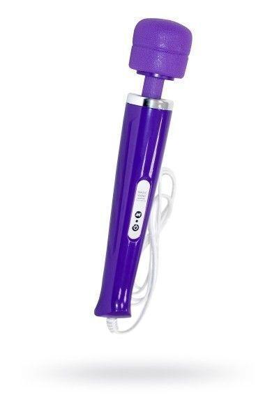 Вибромассажер, Magic Wand ,проводной,силикон, фиолетовый, 31 см