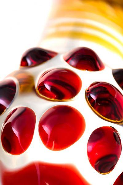 Стеклянный фаллоимитатор Sexus Glass, 20,5 см