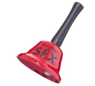Колокольчик Ring for sex красный