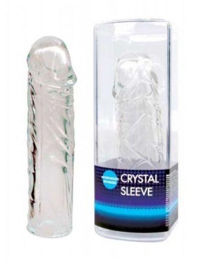 Насадка закрытая удлиняющая Crystal sleeve 13.5 см