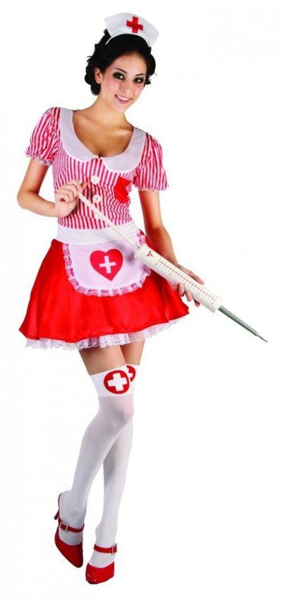 Игровой костюм Медсестричка: платье и ободок S/M