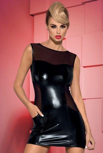 Платье Wetty Obsessive черное L/XL