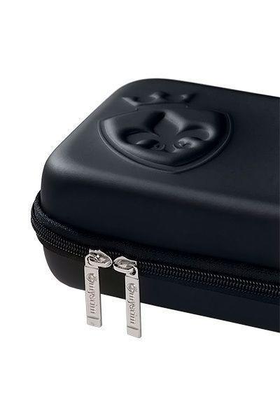 Вибратор Mystim Daring Danny  силиконовый с электростимуляцией чёрный, 27 см