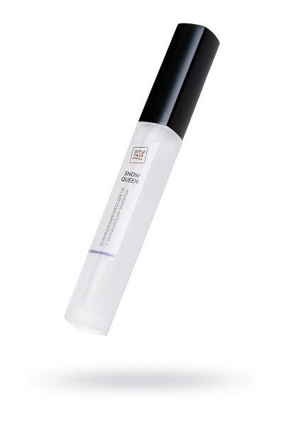 Возбуждающий блеск для губ «Snow queen» с охлаждающим эффектом, со вкусом черная смородина, 5 мл