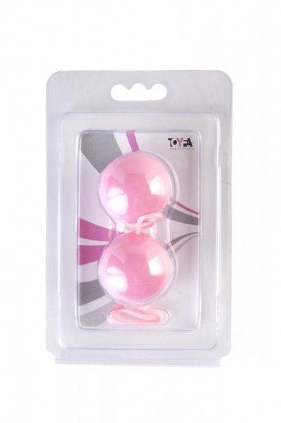 Вагинальные шарики для укрепления мышц розовые 3 см