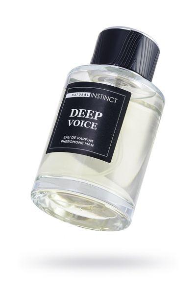 Парфюмерная вода с феромонами  Natural Instinct  'Deep Voice'  мужская 100 мл