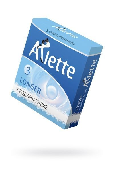 Презервативы 'Arlette' №3, Longer Продлевающие  3 шт.