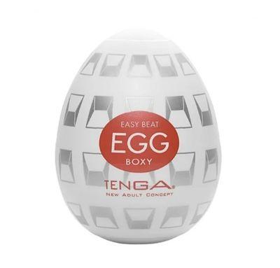 Мастурбатор Tenga Egg Boxy Яйцо «Квадраты»
