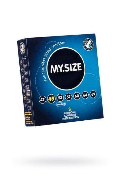 Презервативы  'MY.SIZE' №3 размер 49 (ширина 49mm)