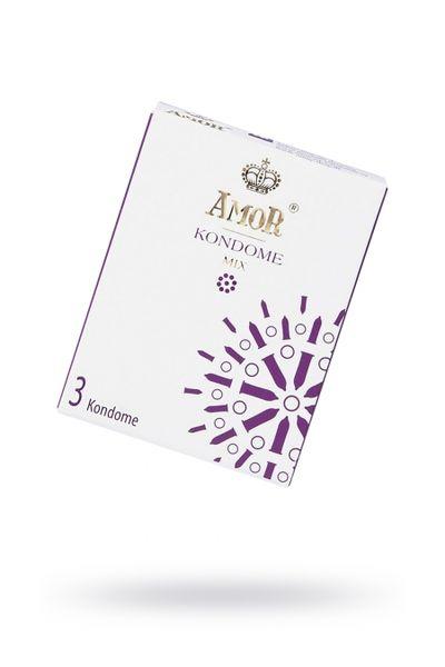 Презервативы AMOR Микс (MIX) №3