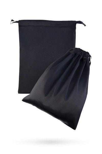 Подарочный мешок из атласа для хранения игрушек, чёрный, 2 шт