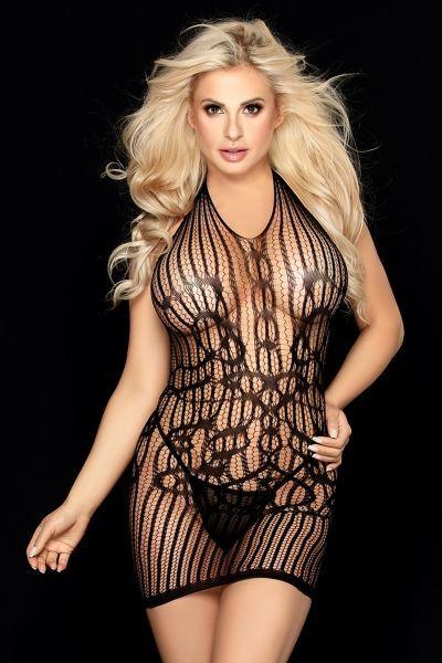 Платье и стринги Candy Girl Kaytee черные, OS