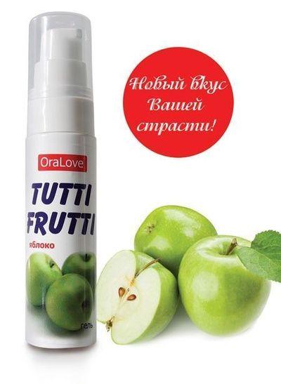 Гель Tutti-frutti яблоко 30 г
