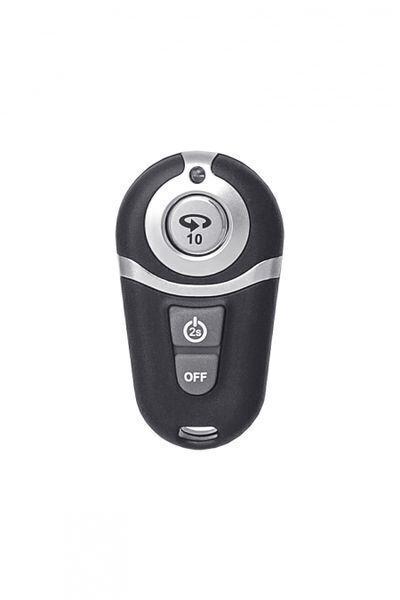 Вибратор с пультом ДУ, телесный, 10 режимов вибрации, перезаряжаемый, 16 см