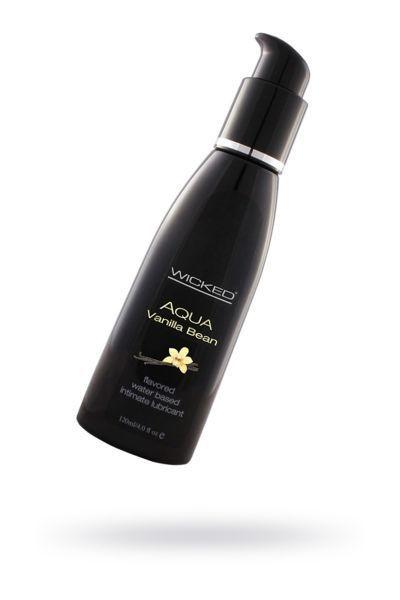 Лубрикант WICKED AQUA Vanilla Bean со вкусом ванильных бобов120 мл