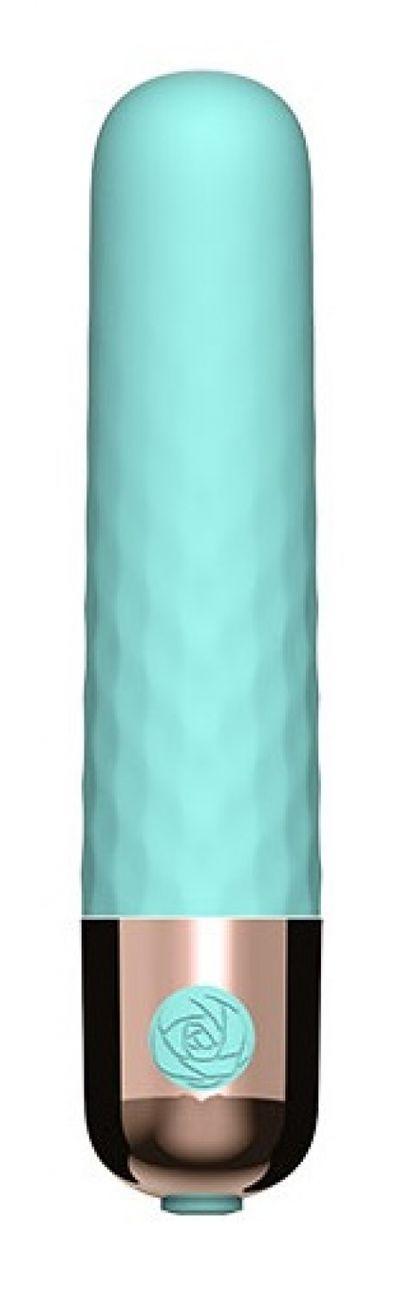 Вибропуля перезаряжаемая 10 режимов мятная 9,5 см