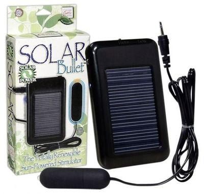 Вибропуля заряжаемая от солнечной батареи Solar Bullet