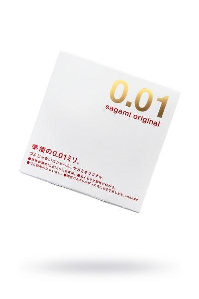 Презервативы полиуретановые Sagami Original 001 №1