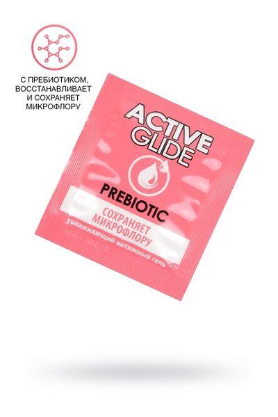 Увлажняющий интимный гель ACTIVE GLIDE PREBIOTIC,  3г 20 шт в упаковке