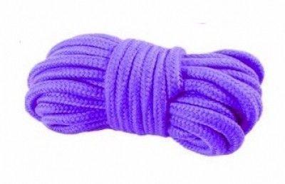 Бондаж для связывания фиолетовый 9 м